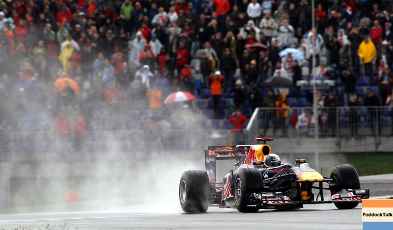 GEPA-15051181066 - SPIELBERG,AUSTRIA,15.MAY.11 - MOTORSPORT, FORMULA 1 - Open House Day Red Bull Ring, project Spielberg. Image shows Sebastian Vettel (GER/ Red Bull Racing). Photo: GEPA pictures/ Christian Walgram - For editorial use only. Image is free of charge.