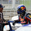 GEPA-15051134124 - SPIELBERG,AUSTRIA,15.MAY.11 - MOTORSPORT, FORMULA 1 - Open House Day Red Bull Ring, project Spielberg. Image shows Mark Webber (AUS/ Red Bull Racing) and technical officer Adrian Newey (Red Bull Racing). Photo: GEPA pictures/ Markus Oberlaender - For editorial use only. Image is free of charge.