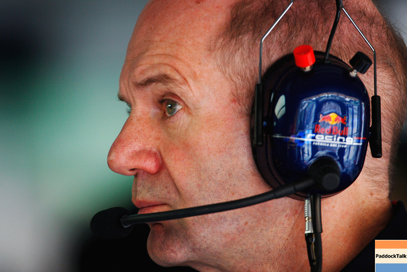 GEPA-08041199025 - FORMULA 1 - Grand Prix of Malaysia, Sepang Circuit. Image shows chief technical officer Adrian Newey (Red Bull Racing).  Photo: Getty Images/ Mark Thompson - For editorial use only. Image is free of charge