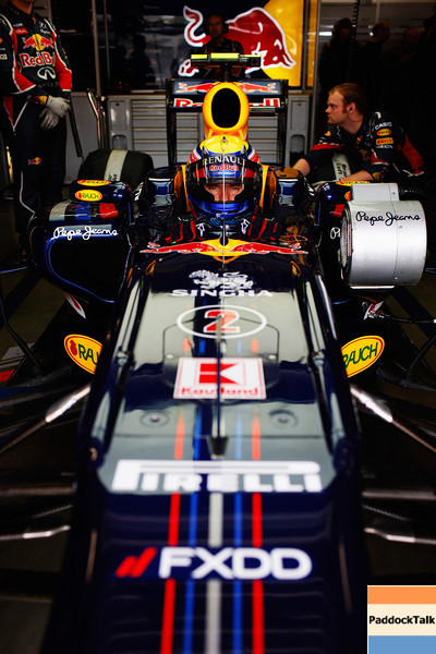 GEPA-23071199011 - FORMULA 1 - Grand Prix of Germany, Nuerburgring. Image shows Mark Webber (AUS/ Red Bull Racing). Photo: Getty Images/ Mark Thompson - For editorial use only. Image is free of charge
