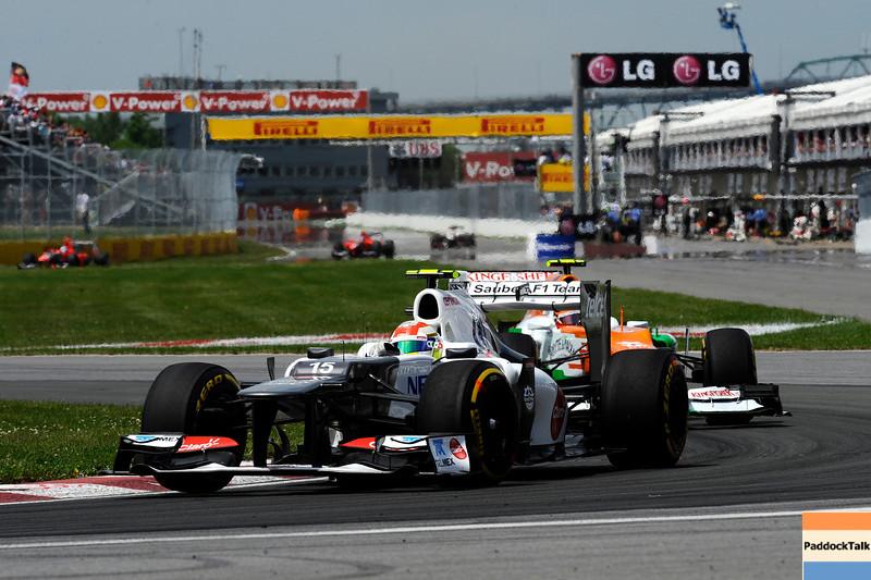 CANADIAN GRAND PRIX F1/2012 - MONTREAL 10/06/2012 - SERGIO PEREZ