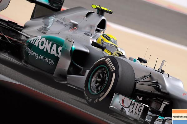 BAHRAIN GRAND PRIX F1/2012 - SAKHIR 21/04/2012 - NICO ROSBERG