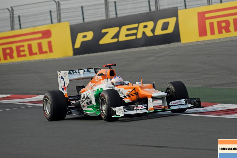 INDIAN GRAND PRIX F1/2012 - GREATER NOIDA 26/10/2012 - PAUL DI RESTA