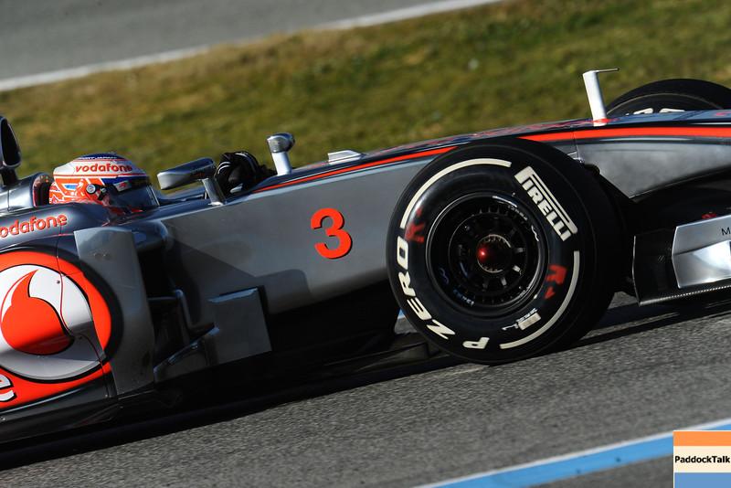 JEREZ (SPAGNA) 08/02/2012 - TEST F1/2012<br /> © FOTO ERCOLE COLOMBO