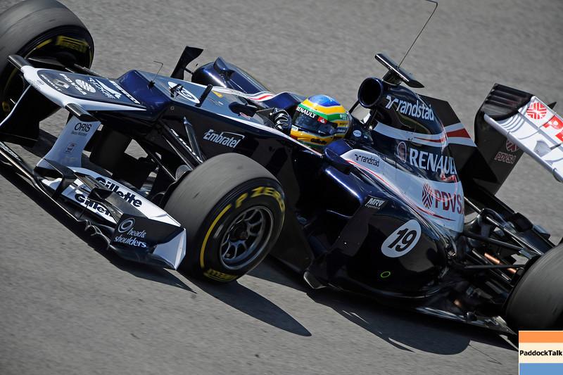 TEST F1/2012 - MUGELLO 03/05/2012 - BRUNO SENNA