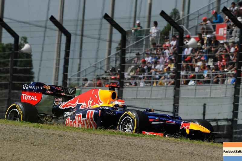 JAPANESE GRAND PRIX F1/2012 - SUZUKA 06/10/2012 - SEBASTIAN VETTEL