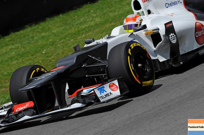 TEST F1/2012 - MUGELLO 03/05/2012 - SERGIO PEREZ