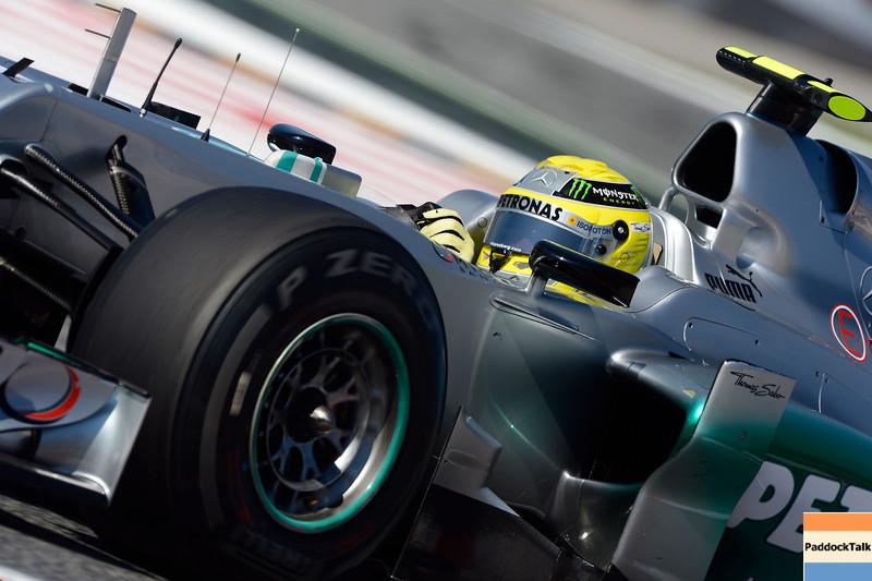 SPANISH GRAND PRIX F1/2012 - BARCELONA 11/05/2012 - NICO ROSBERG