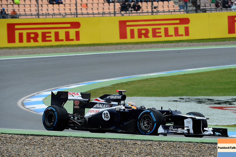 GERMAN GRAND PRIX F1/2012 - HOCKENHEIM 20/07/2012 - PASTOR MALDONADO