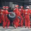INDIAN GRAND PRIX F1/2012 - GREATER NOIDA 28/10/2012 - FERRARI PIT STOP