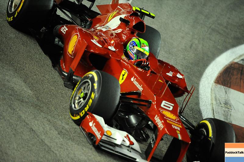 SINGAPORE GRAND PRIX F1/2012 - SINGAPORE 23/09/2012 - FELIPE MASSA
