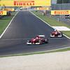 ITALIAN GRAND PRIX F1/2012 - MONZA 08/09/2012 - FERNANDO ALONSO AND FELIPE MASSA.