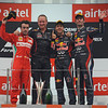 INDIAN GRAND PRIX F1/2012 - GREATER NOIDA 28/10/2012 - PODIUM