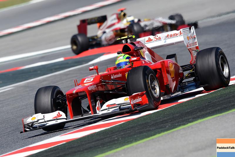 SPANISH GRAND PRIX F1/2012 - BARCELONA 11/05/2012 - FELIPE MASSA