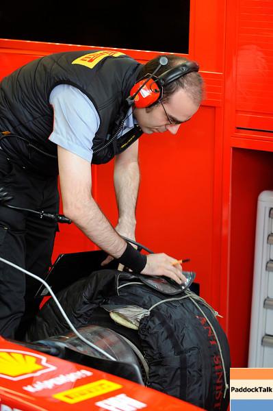TEST F1/2012 - MUGELLO 02/05/2012 - PIRELLI TECHNICIAN