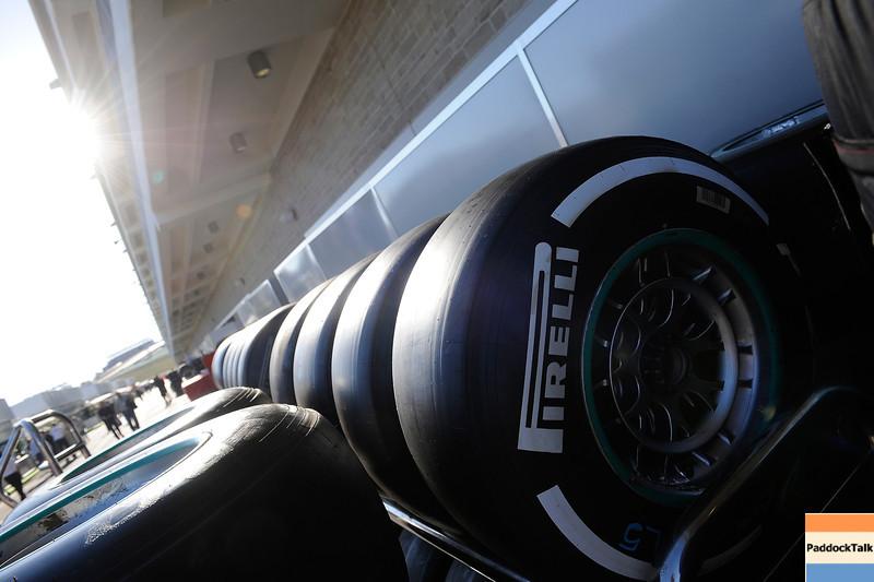 USA GRAND PRIX F1/2012 - AUSTIN 16/11/2012 - tyres