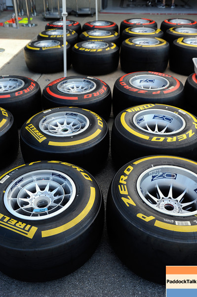 MONTREAL (CANADA) 09/06/2012 - pirelli tyres