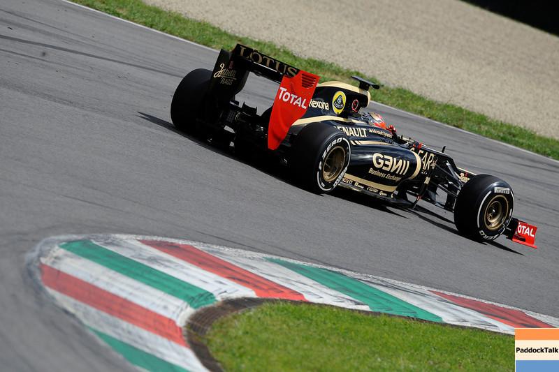 TEST F1/2012 - MUGELLO 03/05/2012 - ROMAIN GROSJEAN