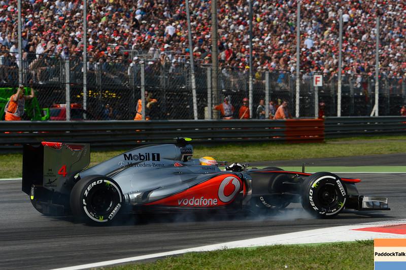 ITALIAN GRAND PRIX F1/2012 - MONZA 08/09/2012 - LEWIS HAMILTON