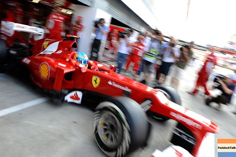 ITALIAN GRAND PRIX F1/2012 - MONZA 08/09/2012 - FERNANDO ALONSO