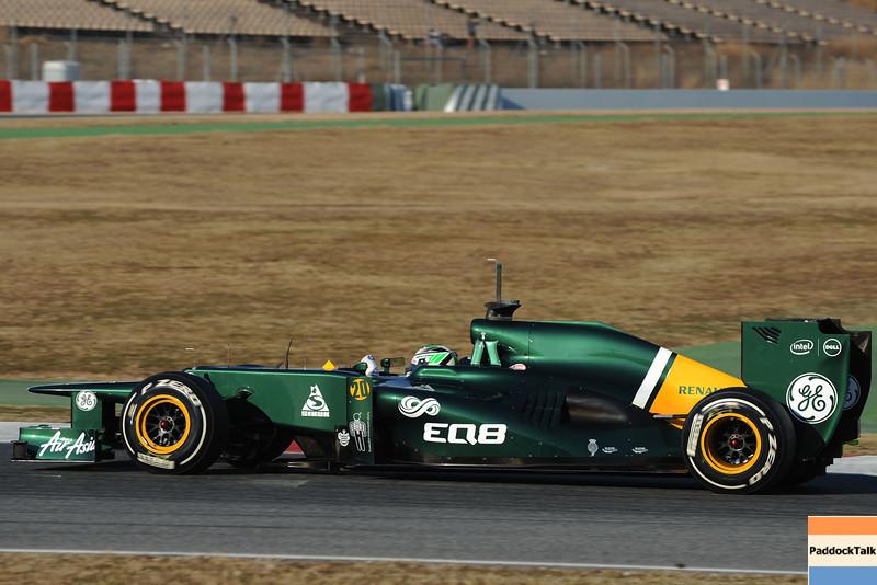 BARCELLONA (SPAIN) 22/02/2012 - TEST F1/2012 - HEIKKI KOVALAINEN