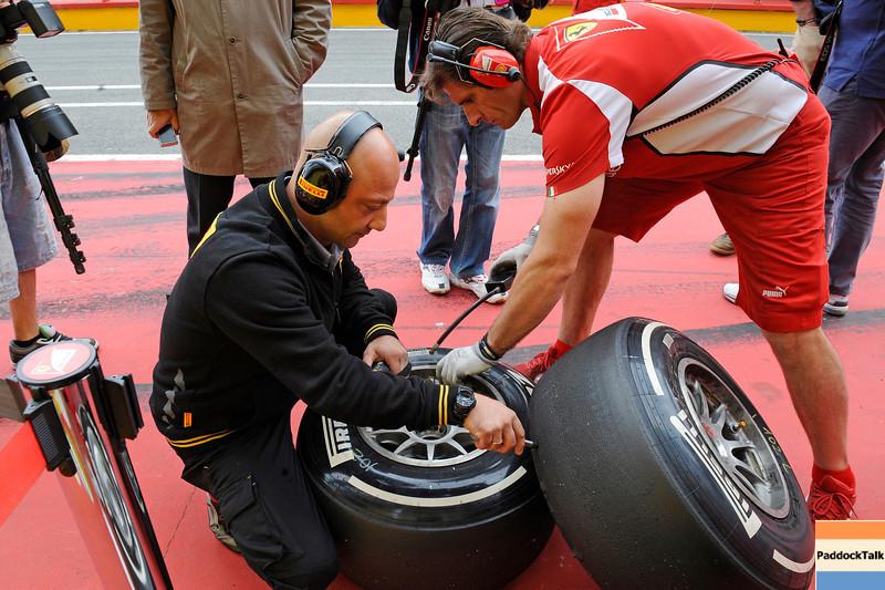 TEST F1/2012 - MUGELLO 03/05/2012 -