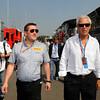 ITALIAN GRAND PRIX F1/2012 - MONZA 08/09/2012 - MARCO TRONCETTI PROVERA WITH PAUL HEMBERY