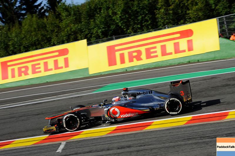BELGIAN GRAND PRIX F1/2012 - SPA 01/09/2012 - JENSON BUTTON