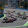 VALENCIA (EUROPA) 24/06/2012 - RACE STARTING