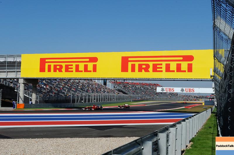USA GRAND PRIX F1/2012 - AUSTIN 16/11/2012 - FERNANDO ALONSO - FELIPE MASSA
