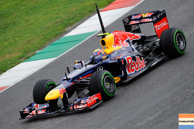 TEST F1/2012 - MUGELLO 02/05/2012 - MARK WEBBER