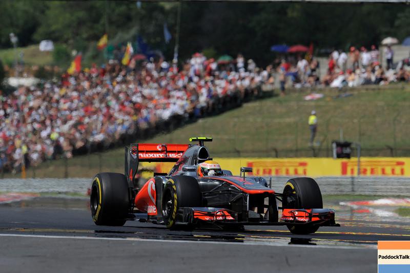 HUNGARIAN GRAND PRIX F1/2012 - BUDAPEST 29/07/2012 -LEWIS HAMILTON