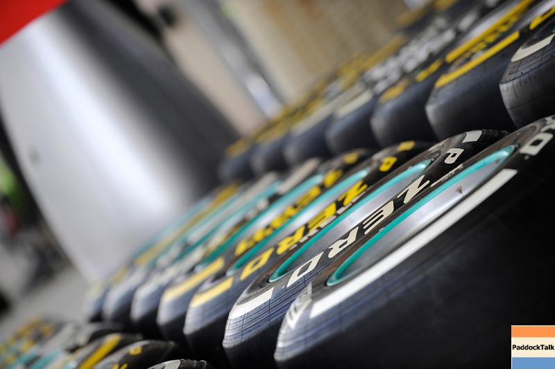 BAHRAIN GRAND PRIX F1/2012 - SAKHIR 20/04/2012 - TYRES