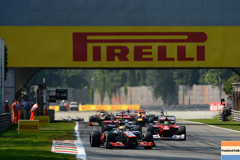 ITALIAN GRAND PRIX F1/2012 - MONZA 09/09/2012 STARTING RACE