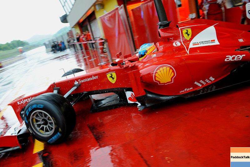 TEST F1/2012 - MUGELLO 02/05/2012 - FERNANDO ALONSO