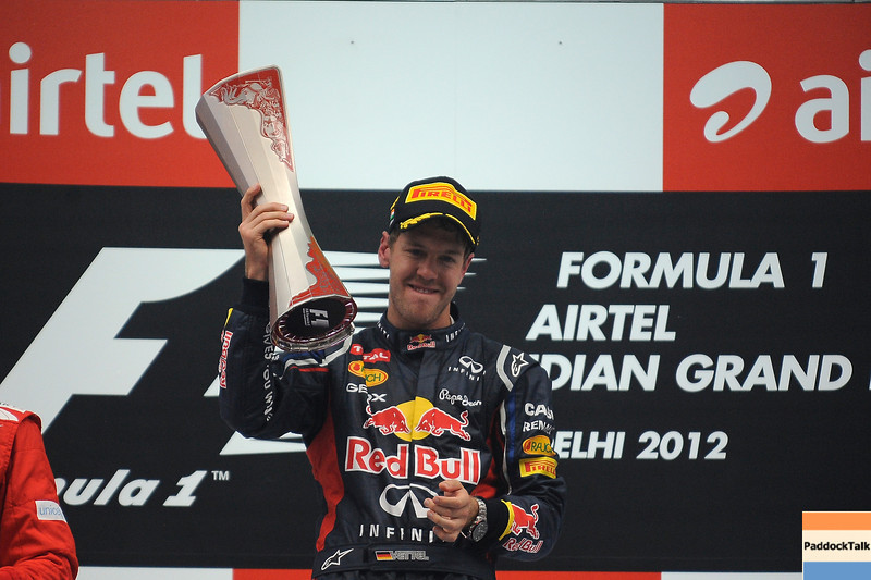 INDIAN GRAND PRIX F1/2012 - GREATER NOIDA 28/10/2012 - SEBASTIAN VETTEL