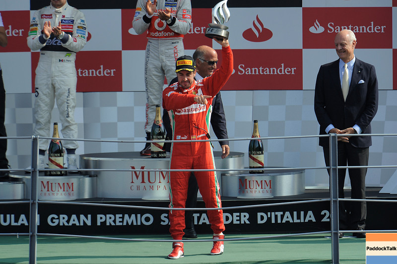 ITALIAN GRAND PRIX F1/2012 - MONZA 09/09/2012 - FERNANDO ALONSO