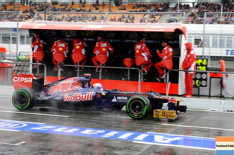 GERMAN GRAND PRIX F1/2012 - HOCKENHEIM 21/07/2012 - DANIEL RICCIARDO TORO ROSSO.