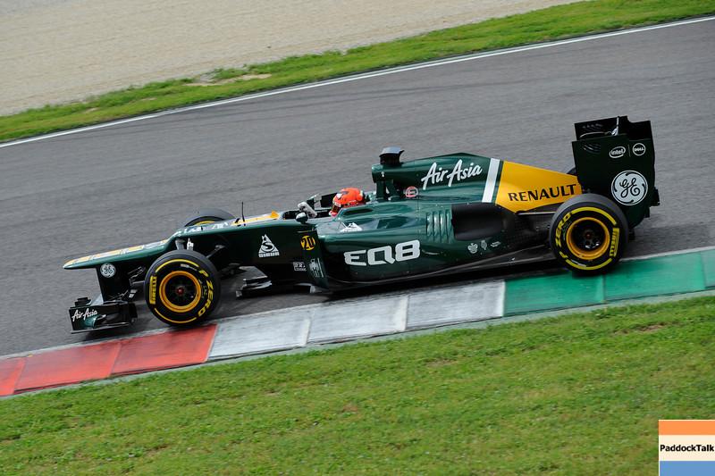 TEST F1/2012 - MUGELLO 03/05/2012 - HEIKKI KOVALAINEN