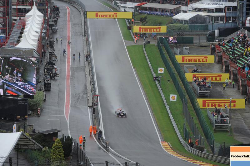 BELGIAN GRAND PRIX F1/2012 - SPA FRANCORCHAMPS 31/08/2012 - VIEW