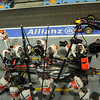 SINGAPORE GRAND PRIX F1/2012 - SINGAPORE 23/09/2012 - pit stop JENSON BUTTON