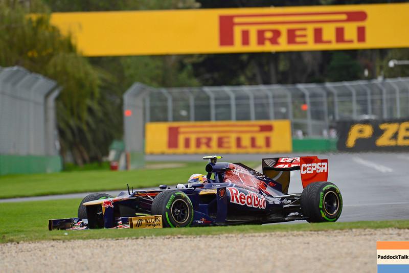 AUSTRALIAN GRAND PRIX F1/2012 - MELBOURNE 16/03/2012 - JEAN-ERIC VERGNE