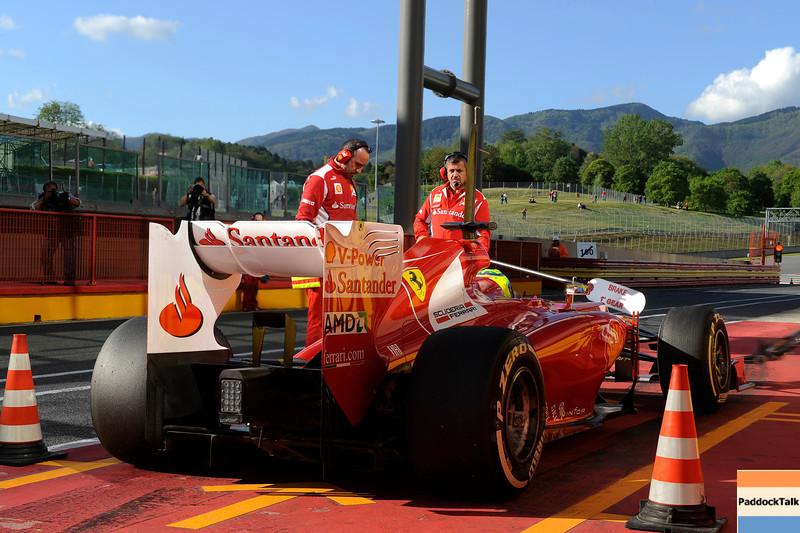 TEST F1/2012 - MUGELLO 03/05/2012 - FELIPE MASSA