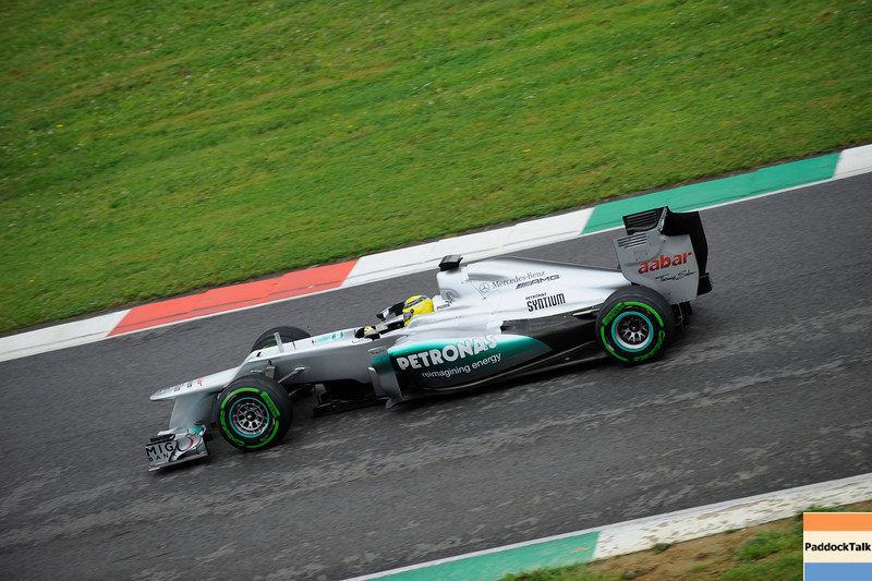 TEST F1/2012 - MUGELLO 02/05/2012 - NICO ROSBERG