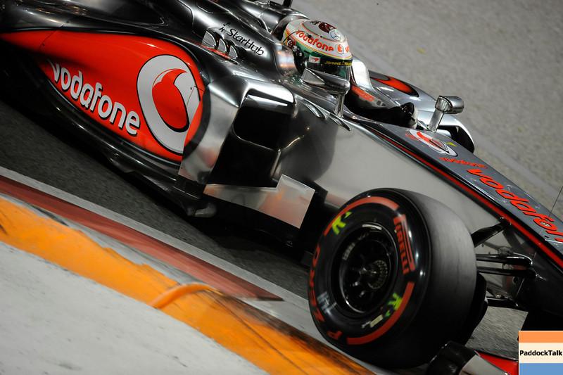 SINGAPORE GRAND PRIX F1/2012 - SINGAPORE 21/09/2012 - LEWIS HAMILTON