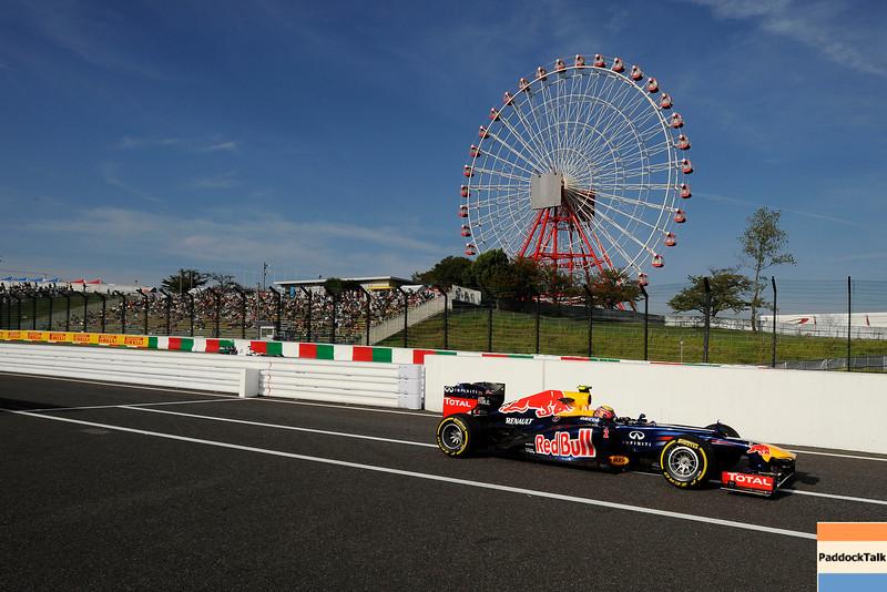 JAPANESE GRAND PRIX F1/2012 - SUZUKA 05/10/2012 - MARK WEBBER