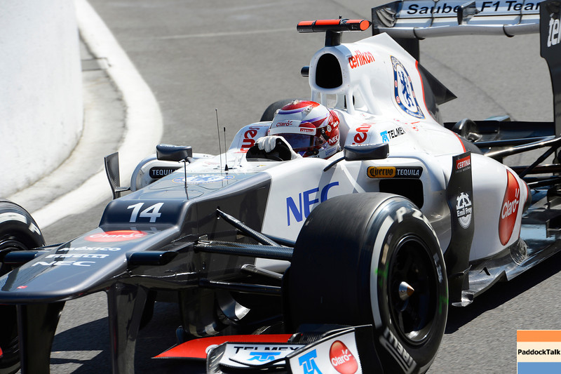 BELGIAN GRAND PRIX F1/2012 - SPA 01/09/2012 - KAMUI KOBAYASHI