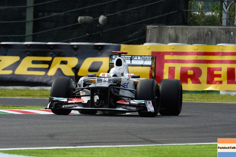 JAPANESE GRAND PRIX F1/2012 - SUZUKA 06/10/2012 - KAMUI KOBAYASHI