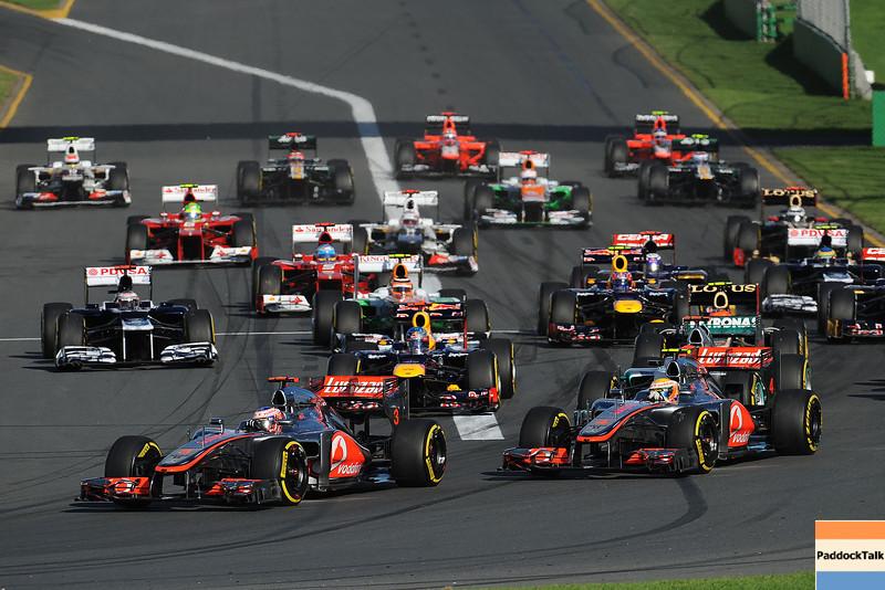 AUSTRALIAN GRAND PRIX F1/2012 - MELBOURNE 18/03/2012 - START