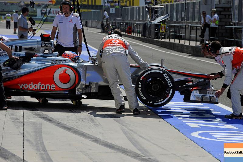 HUNGARIAN GRAND PRIX F1/2012 - BUDAPEST 27/07/2012  - JENSON BUTTON